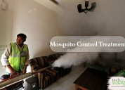Long-lasting mosquito control treatments in Hebbal