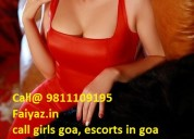 Escorts girls in baga beach north goa | 24/7 book