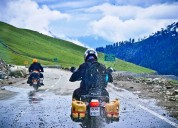 World's highest point on land bike tours in india