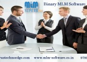 An easy way to grow your business - binary mlm sof