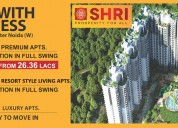 Shri group at noida extension @ 9560090046