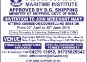 Career in merchant navy | aryavart maritime