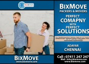 Bixmove packers and movers adyar