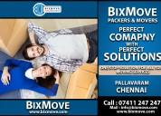 Bixmove packers and movers pallavaram (chennai)