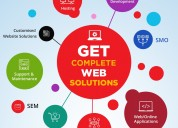 Get complete web solutions for your branding