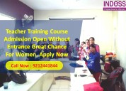 Admission open nursery teacher training course in