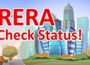 How to check rera registration status of real