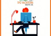Online marketing in tourism company