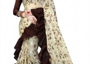 Online shopping for fancy sarees at mirraw online