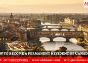 How to become a permanent resident of canada?