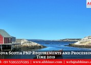 Nova scotia pnp requirements and processing time