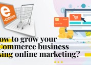 How to grow your e-commerce business using online