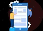 Moblie application development