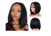 Synthetic hair wigs