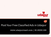 Free classified ads in udaipur