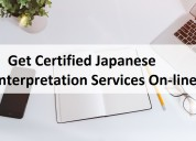 Get certified japanese interpretation services on-