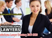Top mesothelioma lawyers and law firm usa director