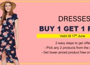 Set the tone : women's dresses online shopping on