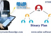 Binary mlm software services at cyrus solutions