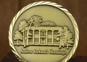 Andrew jackson's hermitage custom coins