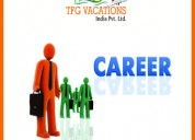Tourism company hiring now