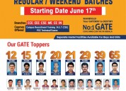 Gate 2020 admissions started|no.1 gate coaching