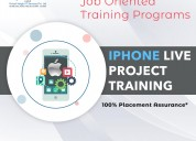 Best live project training in ios - ahmedabad