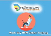 Workday hcm online training | workday hcm online