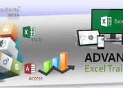 Join the best advanced excel classes in noida