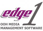 Edge1 outdoor advertising media management softwar