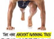 Anabolic running fast