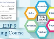 Best tally erp 9 training course provider institut