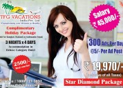 Income platform in tourism company candidate requi