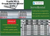 Oracle x5-2 | oracle server rental india