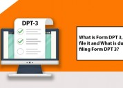 Dpt 3 filing for public limted company