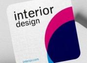 Artistic business cards design delhi