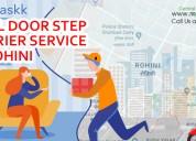 Door step courier delivery service in delhi