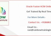 Oracle fusion hcm online training | oracle cloud h