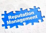 Reputation management service on a single platform