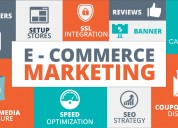 E-commerce marketing program with certified team