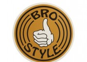 Custom circle stickers | bro style custom stickers