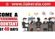 Accounting professional training in thrissur