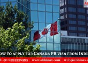 How to apply for canada pr visa from india