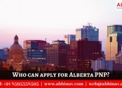 Who can apply for alberta pnp