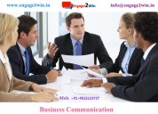 Business communication is an essential part