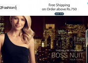 Free shipping on order above rs.750