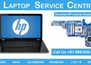 Get doorstep hp laptop repair service in new delhi