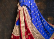 Get your hands on the fashionable designer sarees