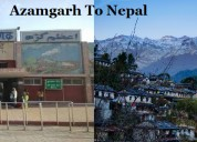 Azamgarh to nepal taxi service, azamgarh to nepal