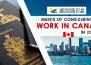 Merits of considering to work in canada in 2019